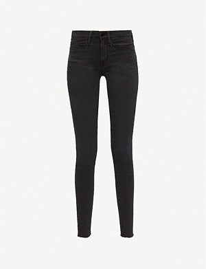 FRAME Le Skinny de Jeane cropped stretch-denim trousers