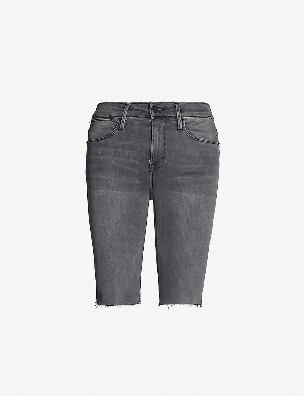 943cc69dd4 FRAME - Le Vintage Bermuda stretch-denim shorts | Selfridges.com