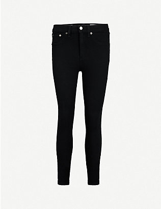 RAG & BONE: Skinny high-rise jeans