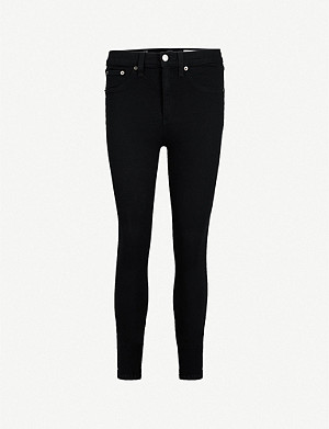 RAG & BONE Skinny high-rise jeans