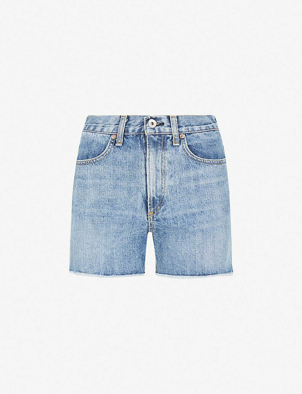 57590a323e RAG & BONE - Torti high-rise denim shorts | Selfridges.com