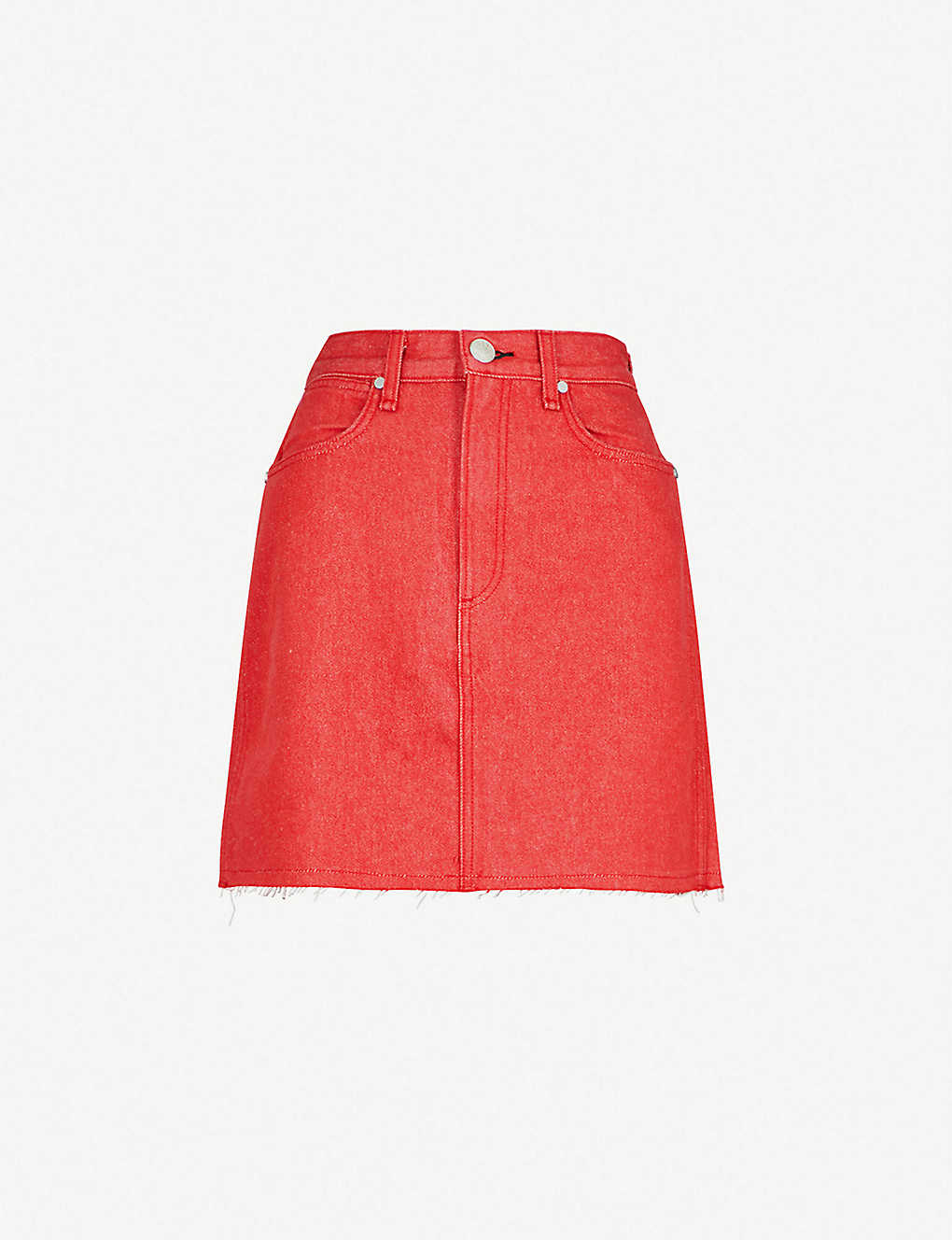 1ce8352bdb RAG & BONE - Moss A-line denim skirt | Selfridges.com