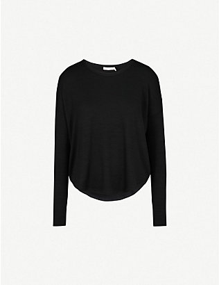RAG & BONE: Hudson jersey top