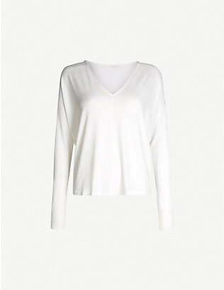 RAG & BONE: Hudson knitted top