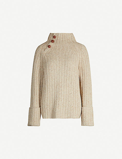 RAG & BONE Klark turtleneck wool-blend jumper
