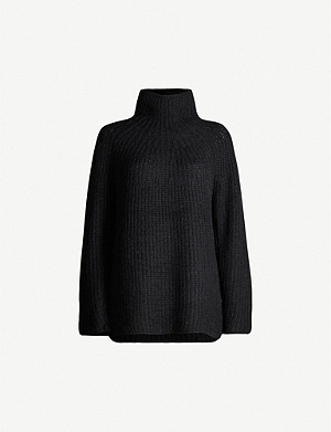 RAG & BONE Joseph ribbed turtleneck stretch-knit jumper
