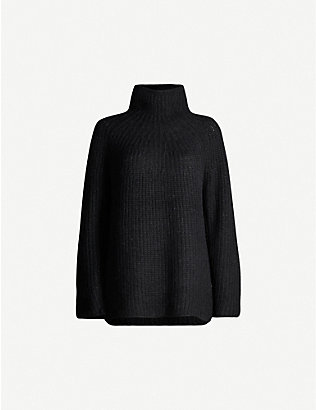 RAG & BONE: Joseph ribbed turtleneck stretch-knit jumper