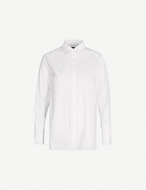 RAG & BONE Anderson cotton and silk-blend shirt