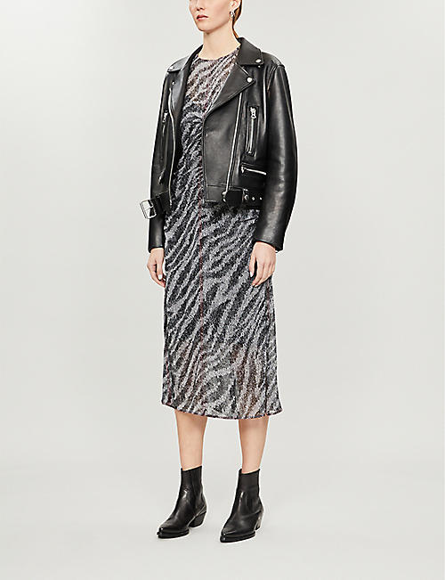 RAG & BONE Maris zebra-print dress
