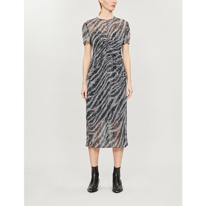 Rag & Bone Dresses MARIS ZEBRA-PRINT DRESS