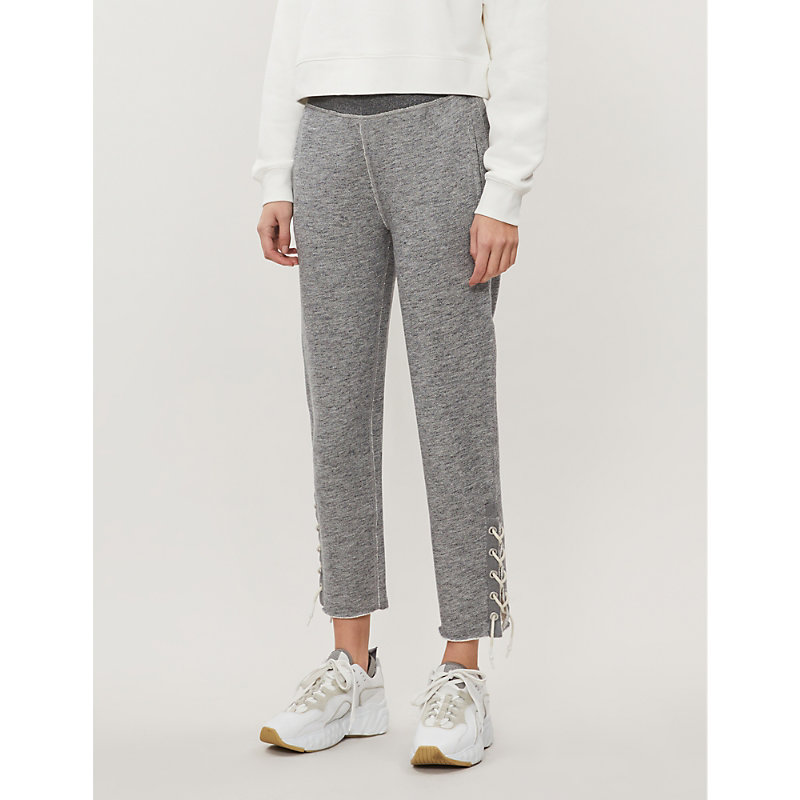 Rag & Bone Tops AMELIA LACE-UP JERSEY JOGGING BOTTOMS