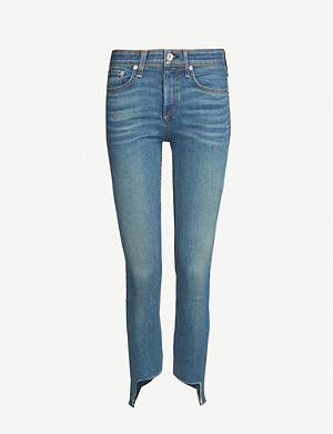 RAG & BONE Cate Mr Ankle cropped mid-rise skinny jeans