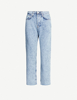 RAG & BONE Maya straight high-rise jeans