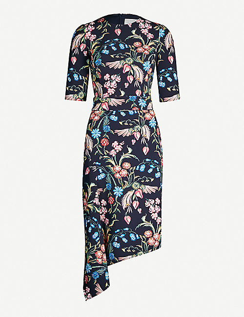 11aa90f537a PETER PILOTTO Floral-print cady dress