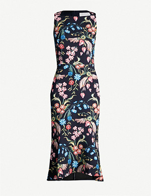 PETER PILOTTO Kia floral-print crepe dress