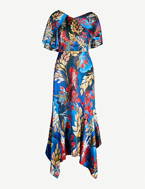 PETER PILOTTO Asymmetric stretch-silk dress