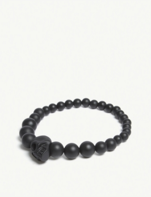 ALEXANDER MCQUEEN Beaded resin bracelet