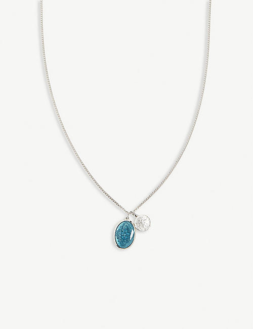 MIANSAI Mini dove silver necklace