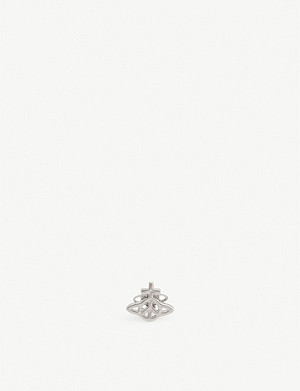 VIVIENNE WESTWOOD Peace Orb single stud earring