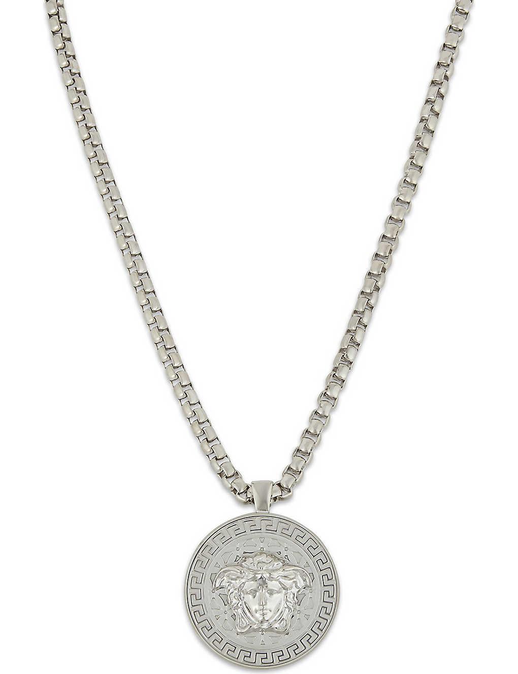 d8efbe25e5587b VERSACE - Medusa pendant necklace | Selfridges.com