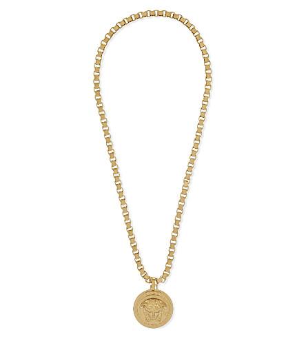 ba1426a183a4 ... VERSACE Medusa pendant necklace (Gold. PreviousNext