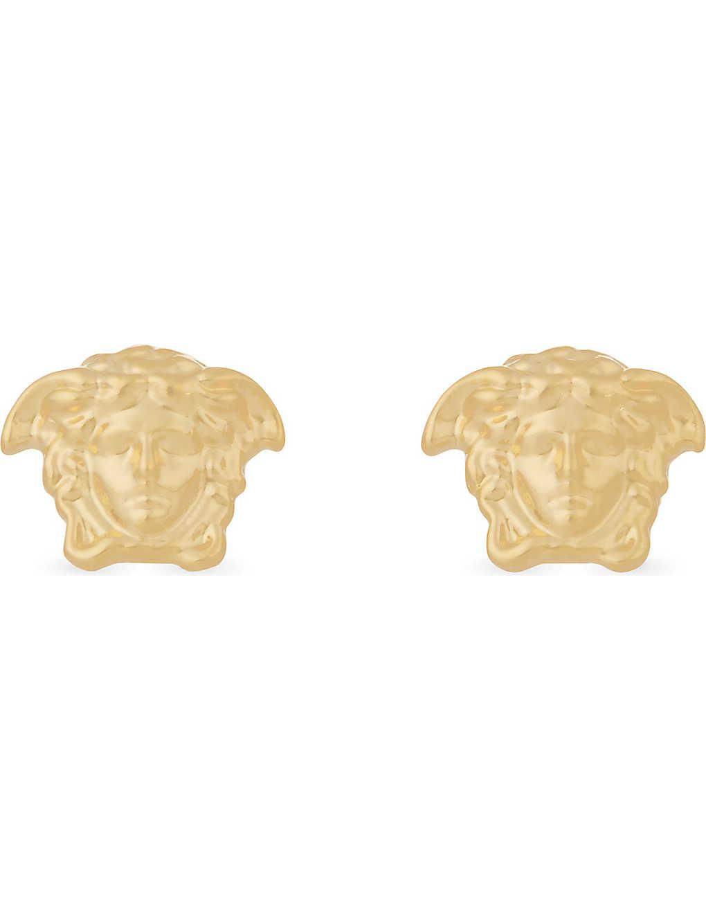 ef4f468b6 VERSACE - Medusa stud gold-tone earrings | Selfridges.com