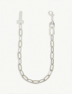 AMBUSH Key crystal necklace