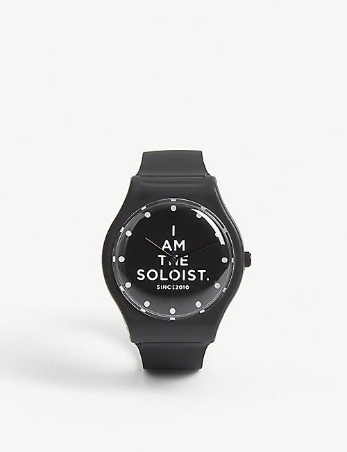 THE SOLOIST Rubber watch