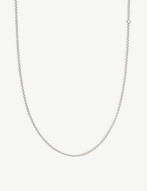 TOM WOOD Sterling silver pendant necklace