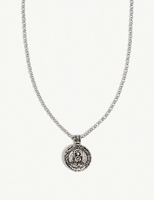 NIALAYA Buddha amulet necklace