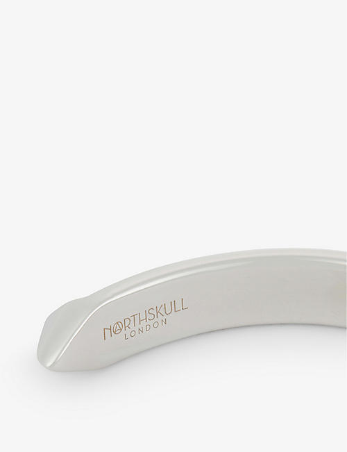 NORTHSKULL The End silver cuff