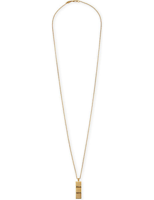 NORTHSKULL Layers 18kt gold necklace