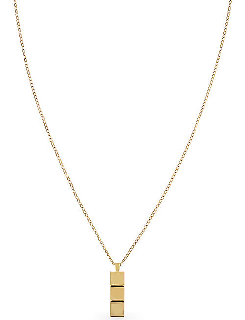 NORTHSKULL: Layers 18kt gold necklace