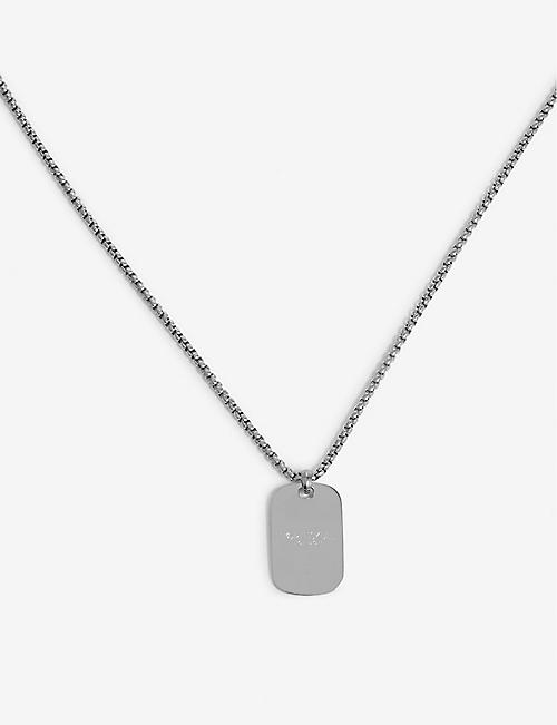 NORTHSKULL ID tag necklace