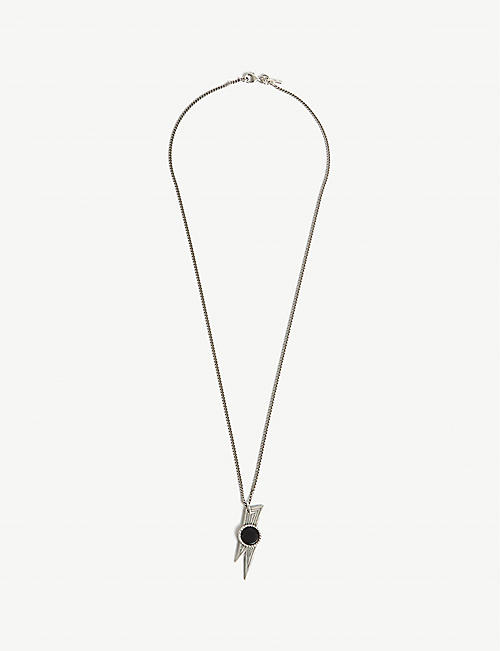 EMANUELE BICOCCHI Thunderbolt sterling silver necklace