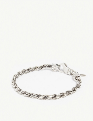 EMANUELE BICOCCHI Sterling-silver French rope bracelet
