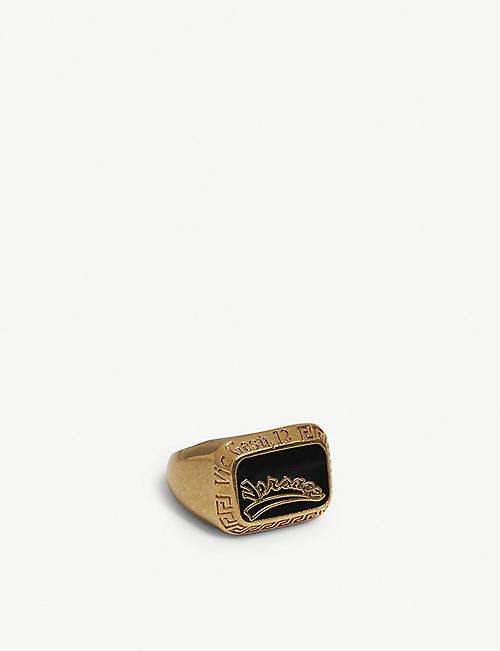 c1fe5796c4 VERSACE Lucky enamel ring