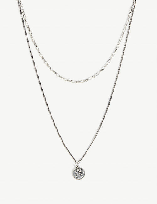 SERGE DENIMES St. Christopher silver necklace