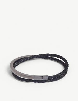 TATEOSSIAN Double wrap leather bracelet
