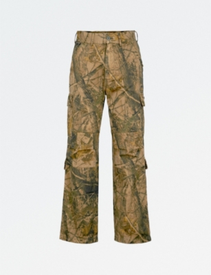 YEEZY Season 5 straight cotton cargo trousers