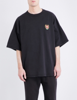 YEEZY Season 5 patch appliqué cotton-jersey T-shirt
