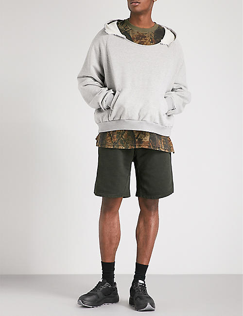 YEEZY Season 5 Rip cotton-jersey hoody