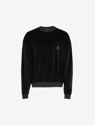 YEEZY Season 5 brand patch cotton-blend jumper