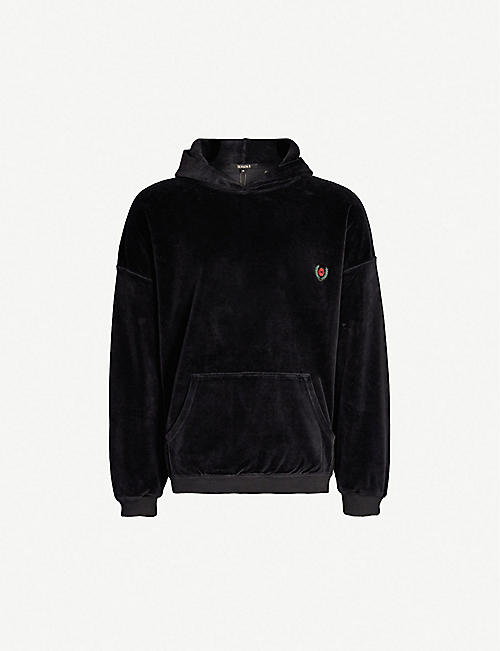 603fbfec7 YEEZY Season 5 cotton-blend velvet hoody
