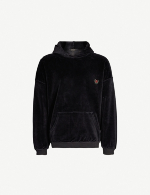 YEEZY Season 5 cotton-blend velvet hoody
