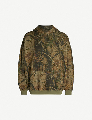YEEZY Season 5 Wolves cotton-jersey hoody