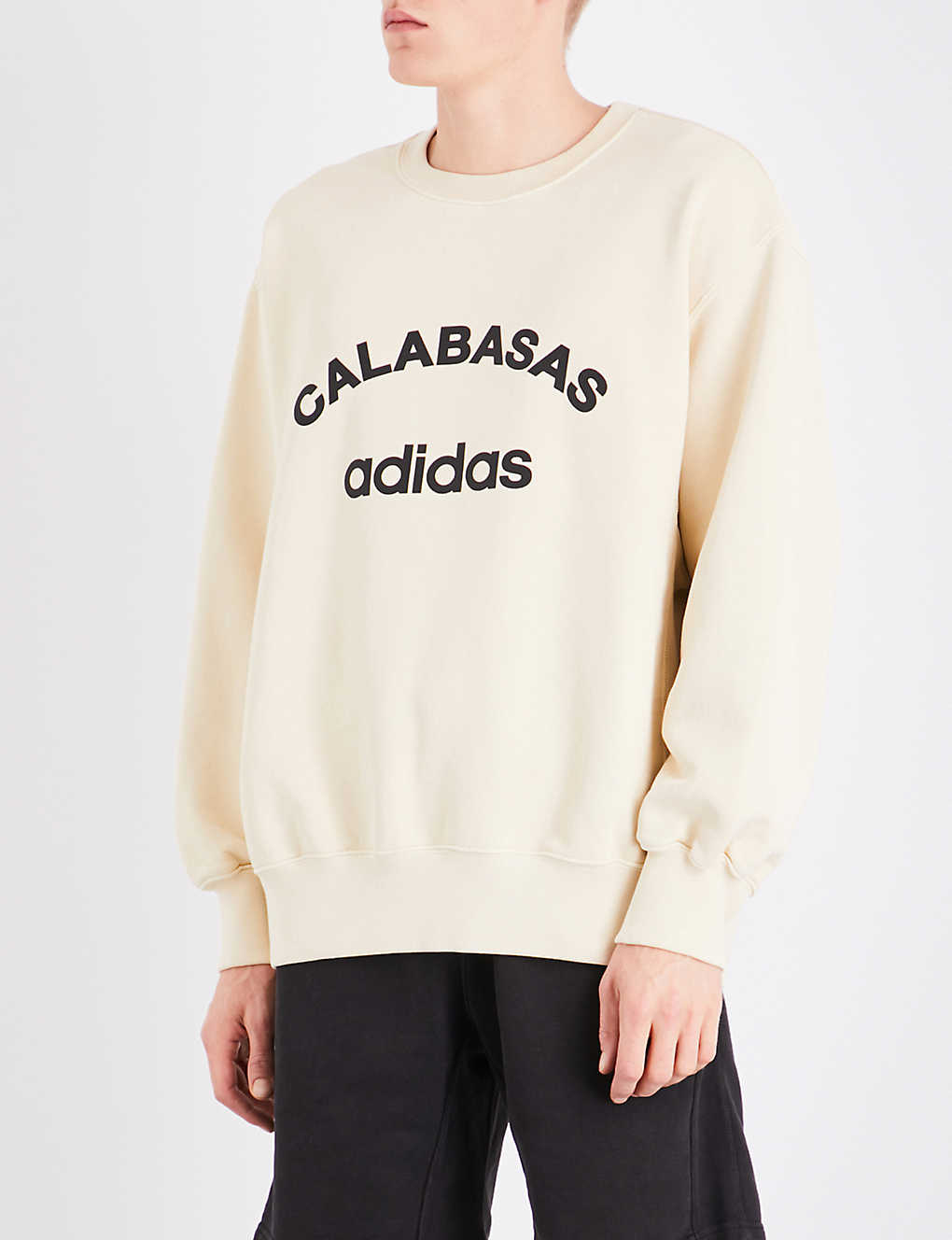 57163a663 YEEZY - Season 5 Calabasas adidas cotton-jersey sweatshirt ...