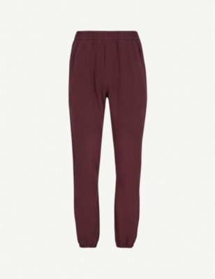 YEEZY Season 5 Calabasas-print cstretch-cotton jogging bottoms