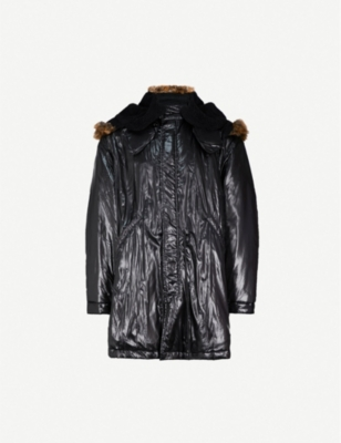 YEEZY Season 5 hooded shell parka jacket