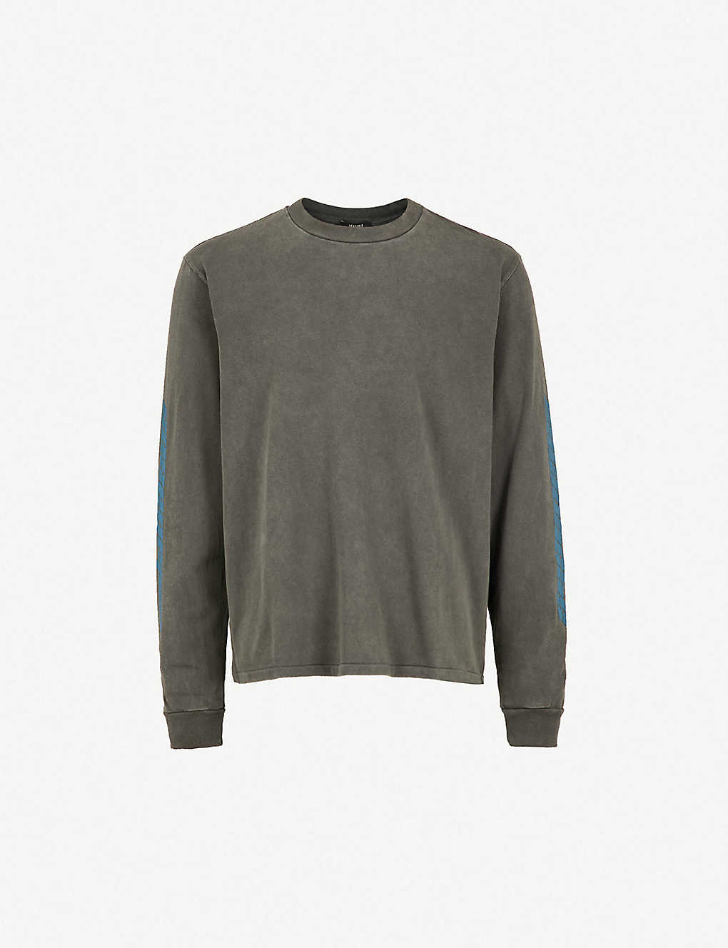 ff0944dea Season 6 Calabasas-print cotton-jersey sweatshirt - Core indigo ...